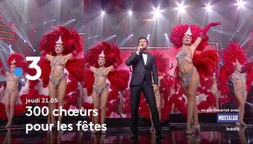« 300 Chœurs pour les fêtes » : les invités de Vincent Niclo ce soir sur France 3