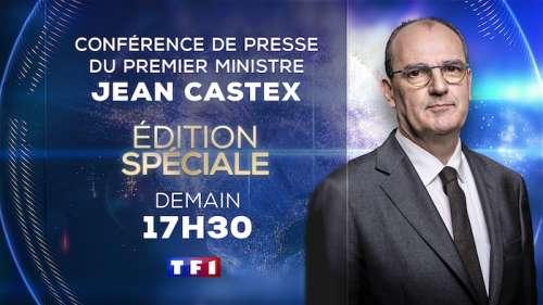 Conférence de presse de Jean Castex ce jeudi 22 avril, «Ici tout commence» déprogrammé