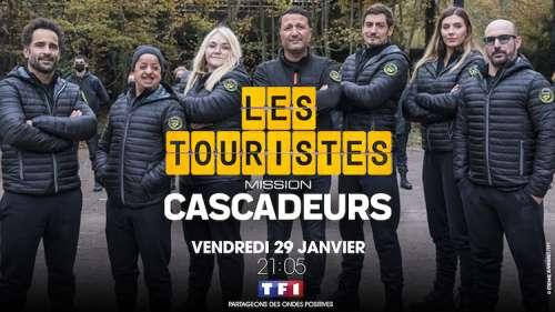 « Les Touristes  » du 29 janvier 2021 : ce soir «Mission cascadeurs» avec… (les invités)