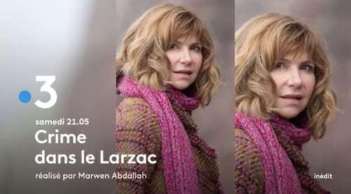 « Crime dans le Larzac » : histoire et  casting du téléfilm de France 3 ce soir avec Florence Pernel et Guillaume Cramoisan
