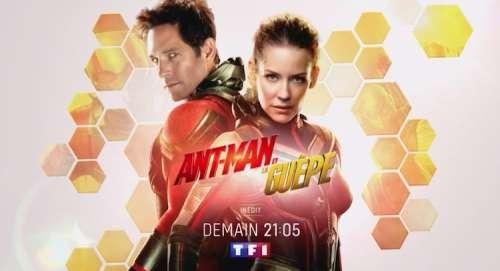 Audiences TV prime 18 avril 2021 : carton pour « Ant-Man et la guêpe » (TF1), succès pour France 5 et C8