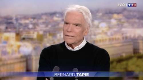 Bernard Tapie dans le 20h de TF1 : «je n'avais rien fait pour mériter ça» (VIDEO)