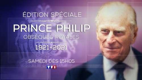 Les obsèques du Prince Philip à suivre samedi en direct sur TF1