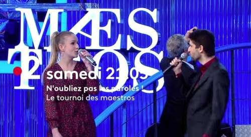 « N'oubliez pas les paroles » du samedi 15 mai 2021 : qui sont les finalistes du «Tournoi des maestros» ce soir sur France 2 ?