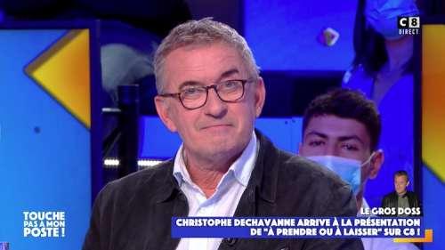 Christophe Dechavanne animera « À prendre ou à laisser » dès le 14 juin 2021 sur C8