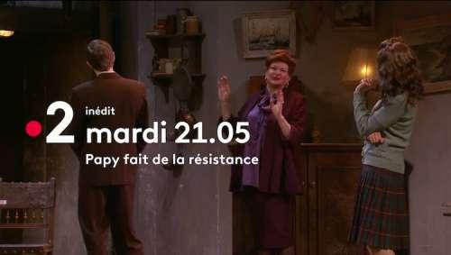 « Coups de théâtre » du 1er juin 2021 : ce soir « Papy fait de la résistance » sur France 2