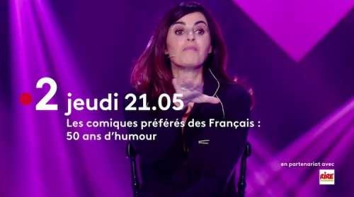 « Les comiques préférés des Français » du 1er juillet 2021 : ce soir «50 ans d'humour» (invités et humoristes)
