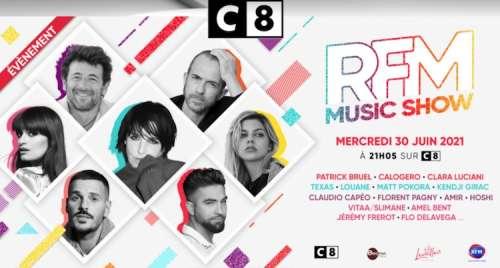 Le « RFM Music Show » avec Amir, Matt Pokora, Vitaa, Patrick Bruel… le 30 juin sur C8