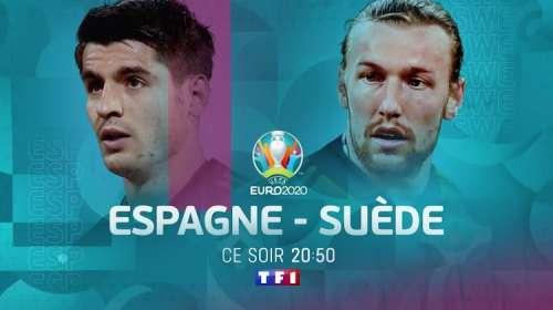 Audiences TV prime lundi 14 juin : « Espagne / Suède » large leader (TF1) devant « Harcelés » (M6)