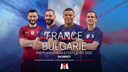 « France / Bulgarie » : suivez le match en direct, live et streaming ce soir sur M6 (+ score en temps réel et résultat final)