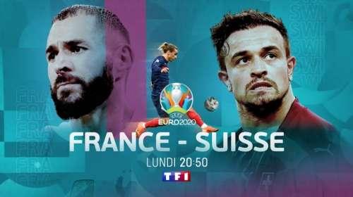 Audiences TV prime 28 juin 2021 : énorme carton pour « France / Suisse » (TF1), flop pour « The Cry » (M6)