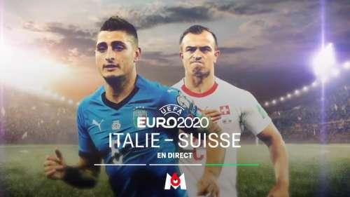 « Italie / Suisse » (Euro 2020) : suivez le match en direct, live et streaming ce soir sur M6 (score en temps réel et résultat final)