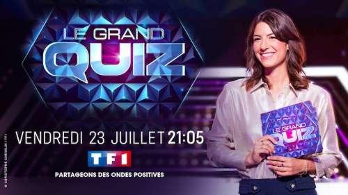 Audiences TV prime 23 juillet 2021 : « Le Grand Quiz » leader (TF1) devant « Les petits meurtres » (France 2)