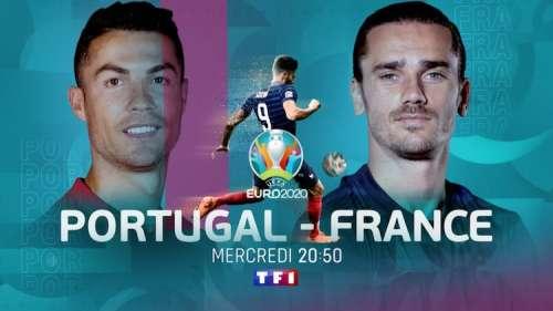 Audiences TV prime 23 juin 2021 : « Portugal / France » écrase la concurrence !