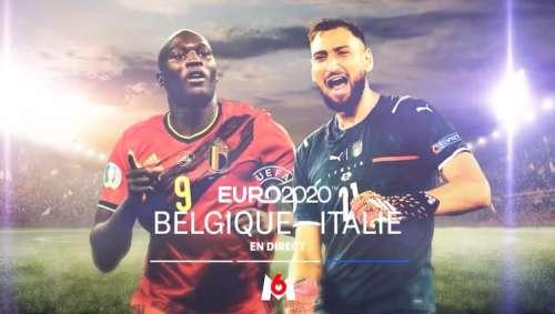 Euro 2020 : « Belgique / Italie », en direct, live et streaming sur M6 et 6play (live, score en temps réel)