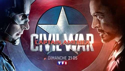 «Captain America : Civil War»  ce dimanche soir sur TF1 (4 juillet 2021)