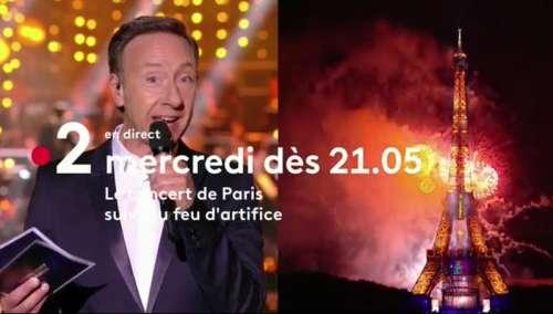 Le Concert de Paris et le feu d'artifice : artistes et programme de ce soir sur France 2 (14 juillet 2021)