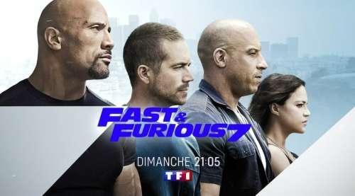 Audiences TV prime 18 juillet 2021 : « Fast and Furious 7 » largement en tête devant « Hudson and Rex »