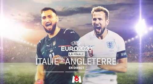 « Italie / Angleterre » : suivez la finale de l'Euro 2020 en direct, live et streaming ce soir sur M6 (score en temps réel et résultat final)