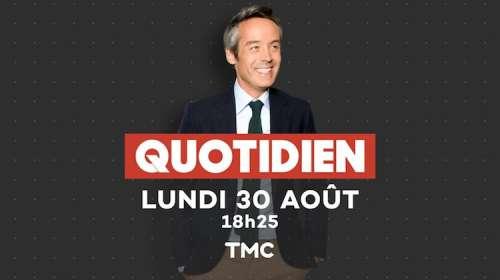 Audiences talks 30 août 2021 : retour gagnant pour « Quotidien » large leader, « TPMP » et « C à Vous » commencent bien