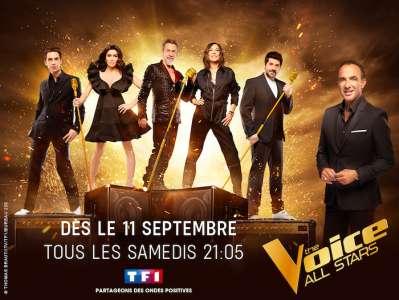 «The Voice all stars» à suivre dès le samedi 11 septembre