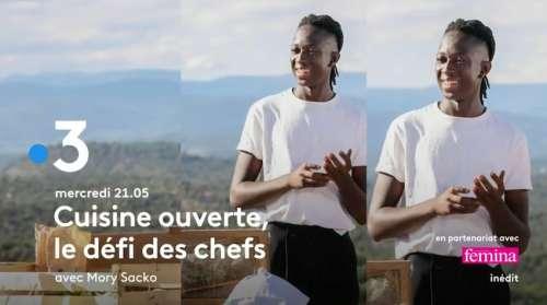 « Cuisine ouverte : le défi des chefs » : les invités de ce soir sur France 3 (mercredi 22 septembre 2021)