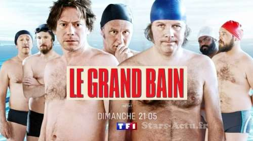 Audiences TV prime dimanche 5 septembre 2021 : « Le Grand Bain » leader devant « Commissaire Dupin »