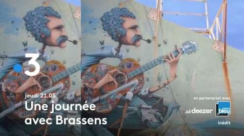 « Une journée avec Brassens » ce jeudi soir sur France 3 (21 octobre 2021)