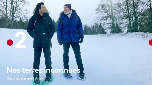 « Nos Terres Inconnues » dans le Jura avec Amir, le 2 novembre 2021 sur France 2