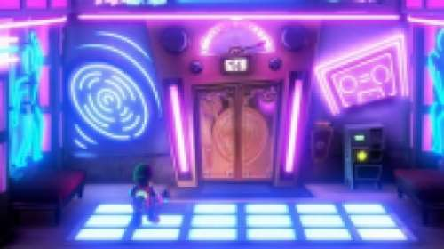 La salle secrète de la discothèque