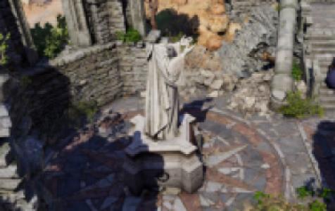 Explorer les ruines