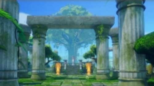 Direction le sanctuaire de Mana