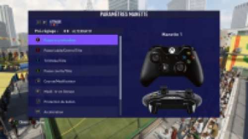 Les commandes de FIFA 21