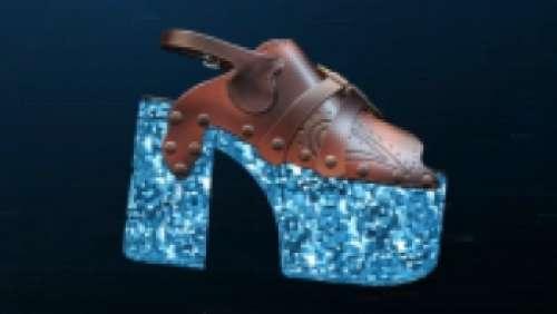 Chaussure à plateforme