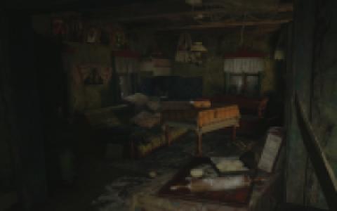 La maison à la cheminée rouge