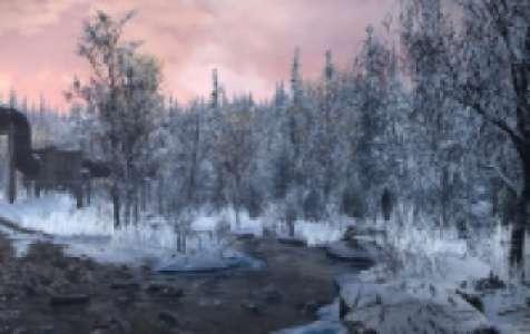Améliorations et véhicules de la Rivière de montagne - Alaska