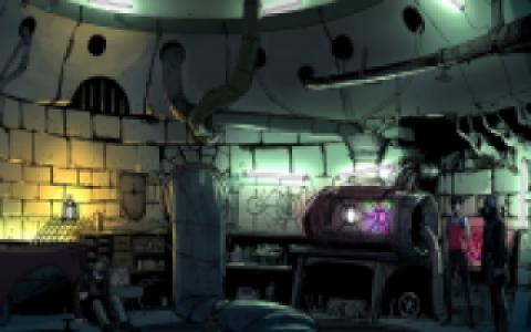 Le laboratoire secret