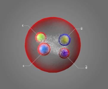Deux fois plus de charme: découverte d'une particule exotique à longue durée de vie