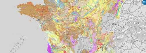 Une nouvelle carte des sols de France accessible à tous