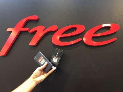 Nouvelles promos temporaires dans la boutique Free mobile