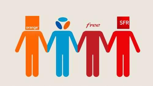 Parts de marché sur le fixe : Free perd du terrain,  Bouygues Telecom progresse