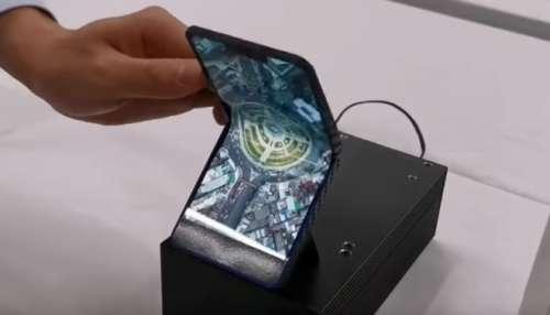Smartphones pliables : voici le design étudié par Sharp