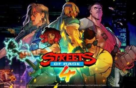Solution pour Street of Rage 4, le retour du roi