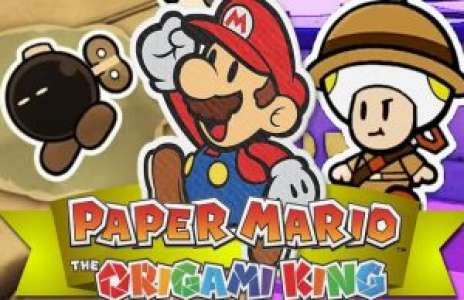 Solution pour Paper Mario The Origami King