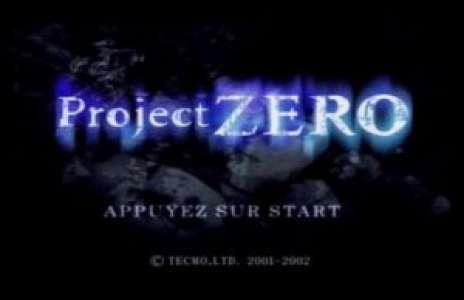 Rétro: Solution pour Project Zero