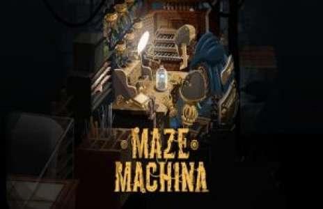 Solution pour Maze Machina, pas facile