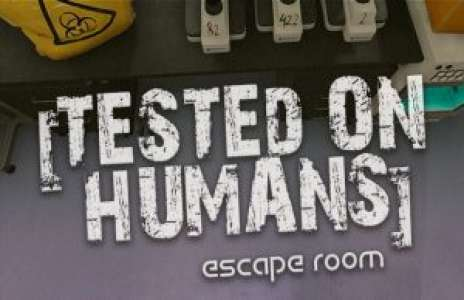 Solution pour Tested on Humans Escape Room