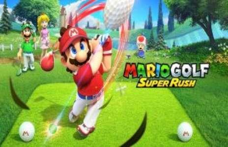 Solution pour Mario Golf Super Rush, mode histoire en exclue Switch