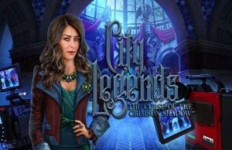 Solution pour  City Legends The Curse of the Crimson Shadow