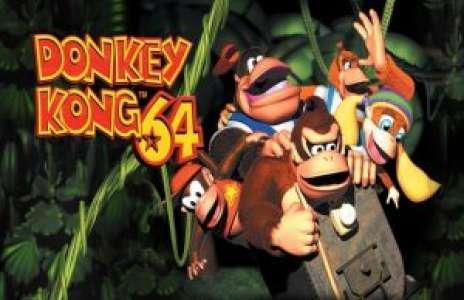 Rétro: Solution pour Donkey Kong 64, plateforme gonflée